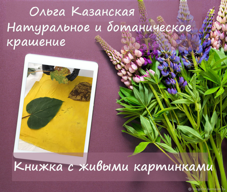 Натуральное и ботаническое крашение, Мастер-классы, Хейлбронн,  Фото №1