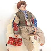 Куклы и игрушки ручной работы. Ярмарка Мастеров - ручная работа Кукла портретная Домовой на Заказ. Handmade.