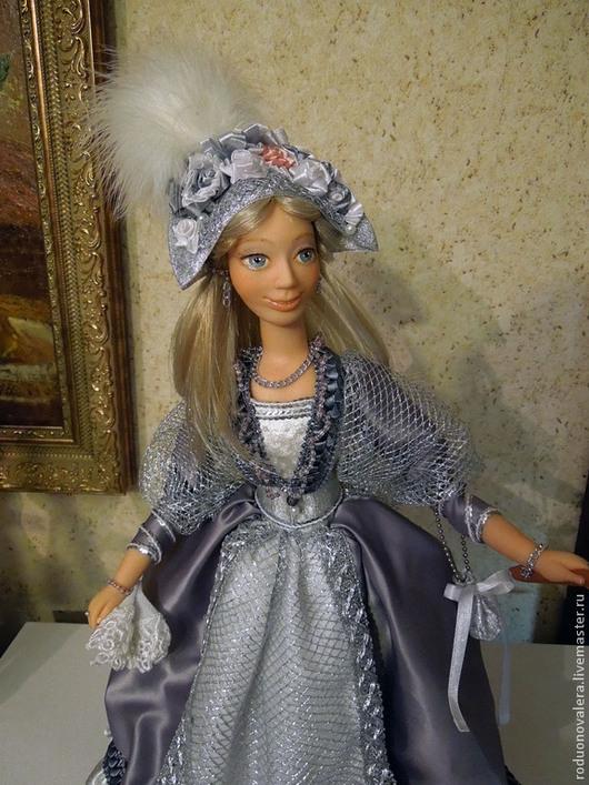 Кукла продана и показана для примера. Коллекционные куклы ручной работы. Авторская кукла `С флейтой` - из серии Маскарад. Родионова Валерия.  Ярмарка Мастеров