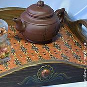 Для дома и интерьера handmade. Livemaster - original item Tray wooden/tray decoupage. Handmade.