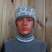 Аксессуары ручной работы. Ярмарка Мастеров - ручная работа Повязка на голову из собачьей шерсти. Handmade.