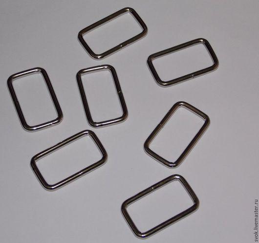 Шитье ручной работы. Ярмарка Мастеров - ручная работа. Купить Рамка металлическая, 30 мм, цвет никель, металлическая фурнитура. Handmade.