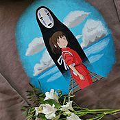 Одежда handmade. Livemaster - original item Painting of the hoodie