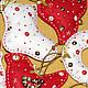 Новый год 2017 ручной работы. Заказать Набор елочных игрушек 10шт. Наталья Гаряева (motildadolls). Ярмарка Мастеров. Подарок на новый год