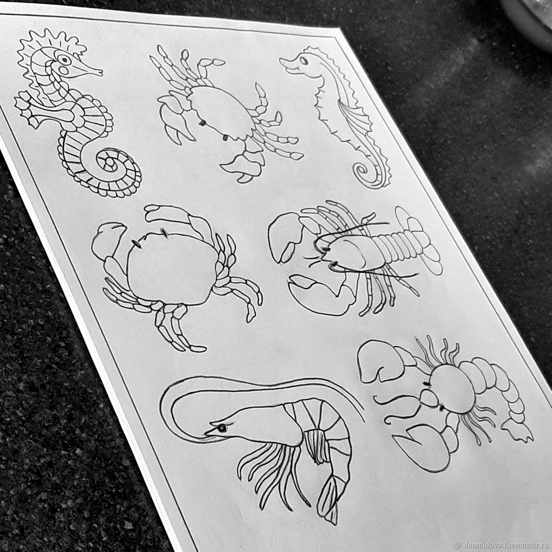 Наборы выкроек на морскую тему, Выкройки для шитья, Новочеркасск,  Фото №1