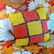 Для дома и интерьера ручной работы. Ярмарка Мастеров - ручная работа Чехол на декоративную подушку. Handmade.
