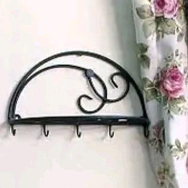 Для дома и интерьера ручной работы. Ярмарка Мастеров - ручная работа Кованная вешалка для полотенец. Handmade.