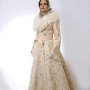 Одежда ручной работы. Ярмарка Мастеров - ручная работа Пальто валяное зимнее Лунная дорожка. Handmade.