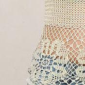 """Одежда ручной работы. Ярмарка Мастеров - ручная работа Топ / майка женская крючком """"солнышко"""" из вискозы. Handmade."""