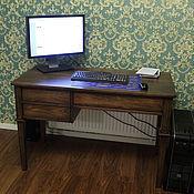 Для дома и интерьера ручной работы. Ярмарка Мастеров - ручная работа Деревянный письменный стол (007). Handmade.