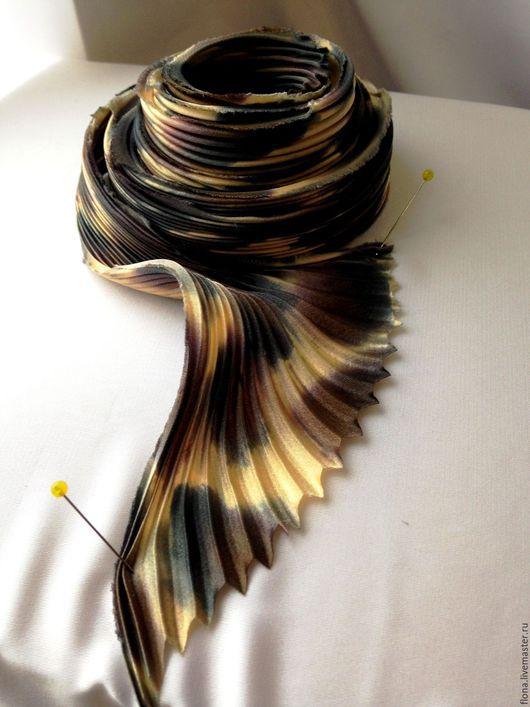 Для украшений ручной работы. Ярмарка Мастеров - ручная работа. Купить Лента Шибори цвет43. Handmade. Комбинированный, натуральный шелк