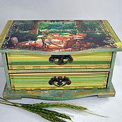 Для дома и интерьера handmade. Livemaster - original item Vintage chest of drawers