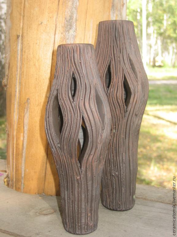 Ваза из керамики Тополь