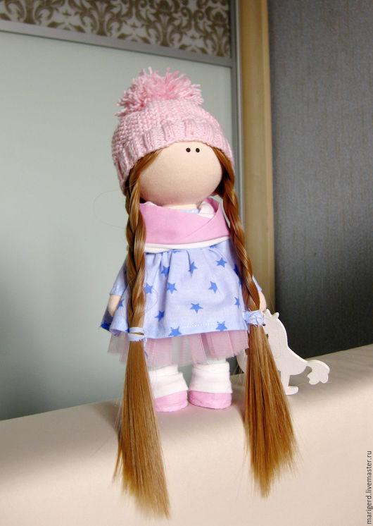 Коллекционные куклы ручной работы. Ярмарка Мастеров - ручная работа. Купить интерьерная кукла. Handmade. Розовый, интерьерная кукла