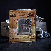 Подарки к праздникам ручной работы. Ярмарка Мастеров - ручная работа Альбом для фото. Handmade.