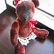 Мишки Тедди ручной работы. Авторская игрушка мишка - тедди  Роззи. Ангелина (куклы и мишки-тедди). Ярмарка Мастеров. теддик