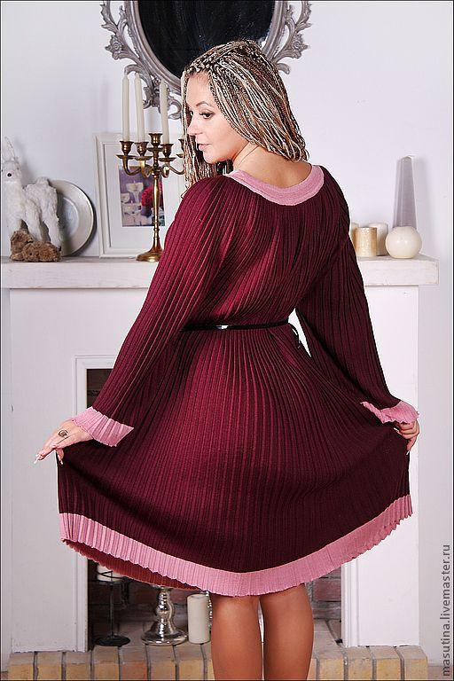 Dress 'Plum pleated', Dresses, St. Petersburg,  Фото №1