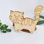 Материалы для творчества handmade. Livemaster - original item Cat with sausage blank for creativity. Handmade.