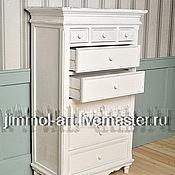 Для дома и интерьера ручной работы. Ярмарка Мастеров - ручная работа Комод высокий Прованс. Handmade.