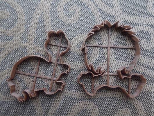 Кухня ручной работы. Ярмарка Мастеров - ручная работа. Купить Контуры Львенок и Черепаха - вырубка для печенья, пряников, мастики. Handmade.