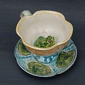 handmade. Livemaster - original item A couple of tea with a surprise