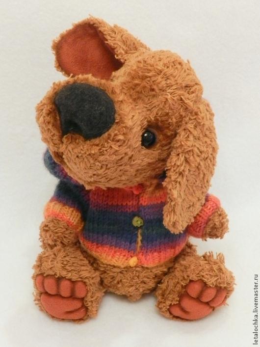Мишки Тедди ручной работы. Ярмарка Мастеров - ручная работа. Купить Деннис. Handmade. Авторская ручная работа, собака игрушка