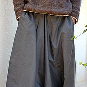 Одежда ручной работы. Ярмарка Мастеров - ручная работа Афгани для мужчин с карманами серые. Handmade.
