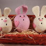 Подарки к праздникам ручной работы. Ярмарка Мастеров - ручная работа Влюбленный зайка. Handmade.