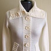"""Одежда ручной работы. Ярмарка Мастеров - ручная работа Вязаный жакет """"Helena"""". Handmade."""