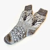 Аксессуары ручной работы. Ярмарка Мастеров - ручная работа Шерстяные носки мужские в ассортименте. Handmade.