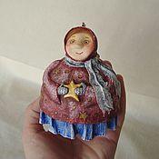 Куклы и игрушки ручной работы. Ярмарка Мастеров - ручная работа Зимняя фея со звездой. Handmade.