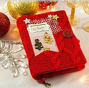 Канцелярские товары handmade. Livemaster - original item Christmas Notepad. Handmade.