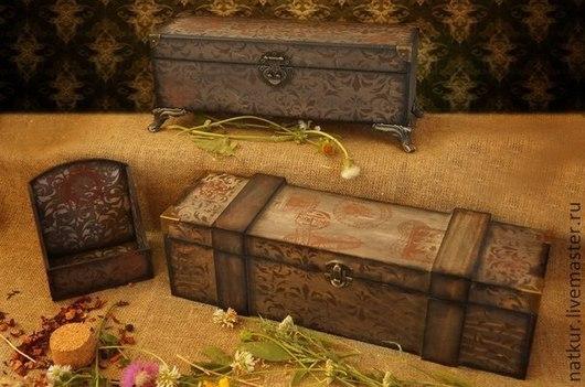 Кухонный набор , винный короб , чайная коробка , подставка для специй купить