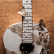 Для дома и интерьера ручной работы. Ярмарка Мастеров - ручная работа Декоративная гитара. Handmade.