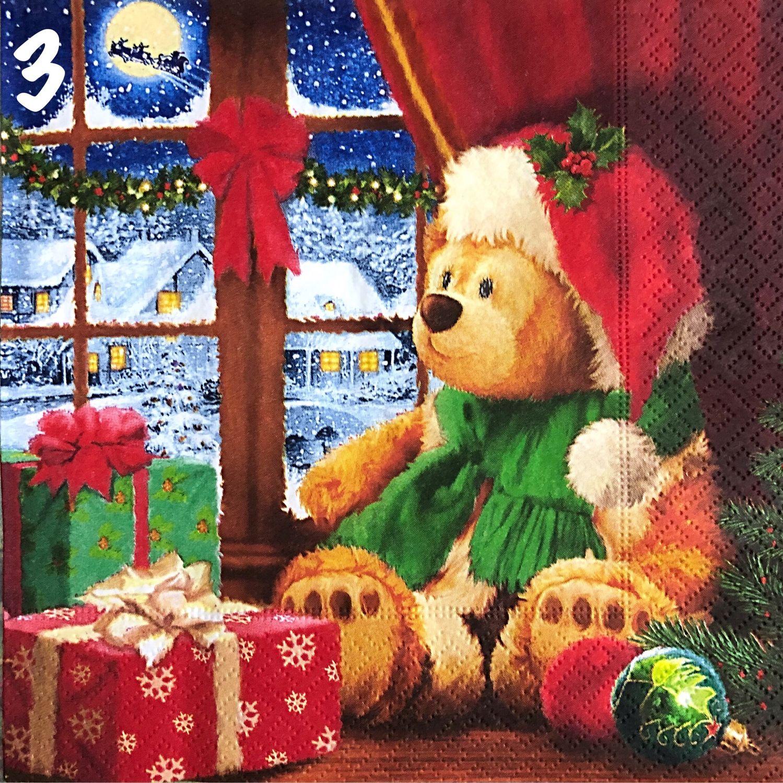 новогодние картинки медвежатами сожалению
