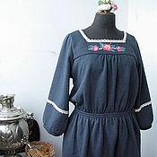 """Одежда ручной работы. Ярмарка Мастеров - ручная работа Платье """"Зимняя усадьба"""". Handmade."""