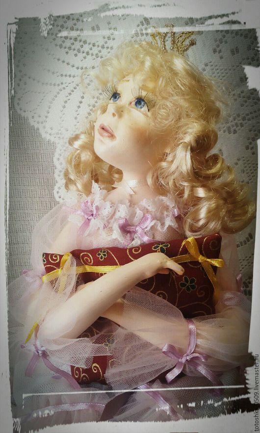 Сказочные персонажи ручной работы. Ярмарка Мастеров - ручная работа. Купить Авторская кукла Принцесса на горошине. Handmade. Комбинированный
