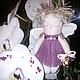 Куклы Тильды ручной работы. Ангелы-малютки. Ольга. Интернет-магазин Ярмарка Мастеров. Новогодний подарок, новогодние игрушки, хлопок