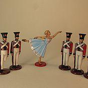 """Сувениры и подарки handmade. Livemaster - original item """"The Steadfast Tin Soldier"""". Set. Tin. Painting. 40 mm. Handmade."""