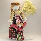 """Куклы и игрушки ручной работы. Ярмарка Мастеров - ручная работа Кукла """"Ведущая по жизни"""" с мальчиком  (по мотивам народной """"Ведучки""""). Handmade."""