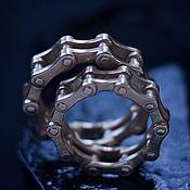 """Свадебный салон ручной работы. Ярмарка Мастеров - ручная работа Обручальные кольца """"Велоцепь"""". Handmade."""