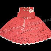 Работы для детей, ручной работы. Ярмарка Мастеров - ручная работа Платье для девочки Ананас. Handmade.