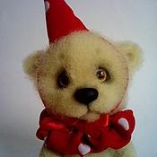 Куклы и игрушки ручной работы. Ярмарка Мастеров - ручная работа медвежонок Ванилька. Handmade.