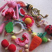 Куклы и игрушки ручной работы. Ярмарка Мастеров - ручная работа Слингобусы+игрушки. Handmade.