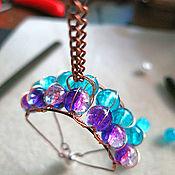 Украшения handmade. Livemaster - original item Wirewrap paraglider pendant. Handmade.