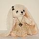 Мишки Тедди ручной работы. Зайка Ника. Irene Gromi (Teddy Art Boutique). Ярмарка Мастеров. Зайка в подарок