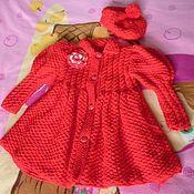 """Работы для детей, ручной работы. Ярмарка Мастеров - ручная работа Пальто """"Красная шапочка"""". Handmade."""