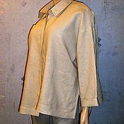 """Одежда ручной работы. Ярмарка Мастеров - ручная работа Блуза льняная """"оверсайз"""". Handmade."""