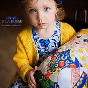 Для дома и интерьера ручной работы. Ярмарка Мастеров - ручная работа Кукла-подушка Матрёшка. Handmade.