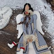 Куклы и игрушки ручной работы. Ярмарка Мастеров - ручная работа кукла тильда ручной работы ЗИМНИЙ АНГЕЛ. Handmade.